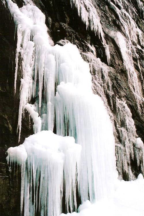Whiteoak Canyon Ice