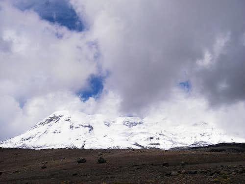 Climbing Coropuna, West Rib Route