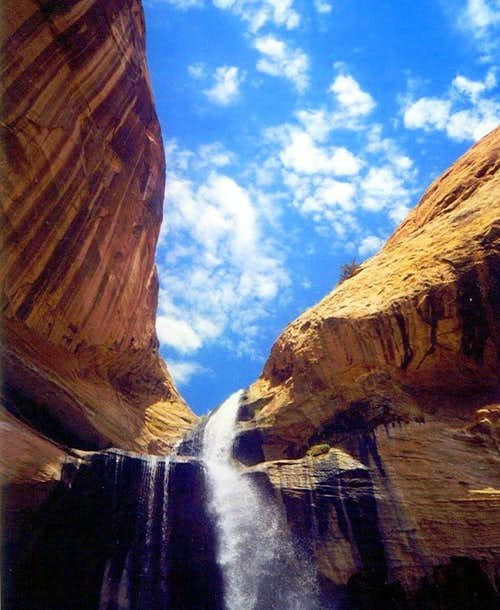 Calf Creek - look up
