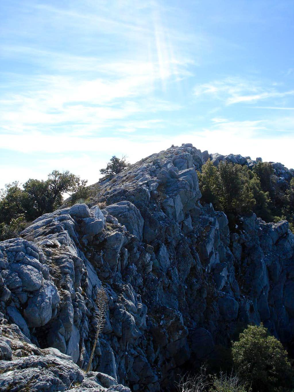 Pico Blanco Summit