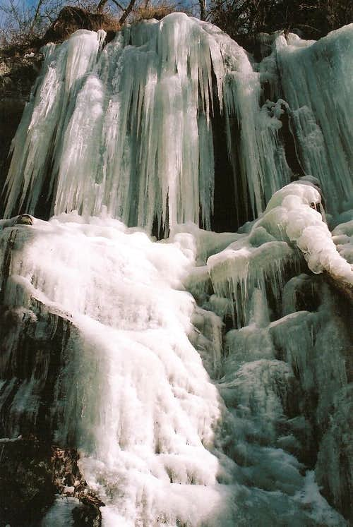 Whiteoak Canyon Ice