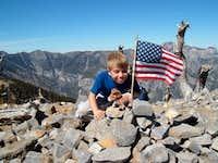 Summit of Griffith Peak