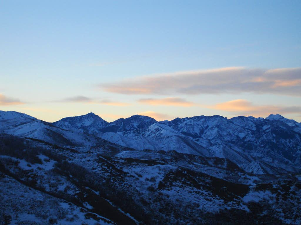 Early Dawn in the Wasatch