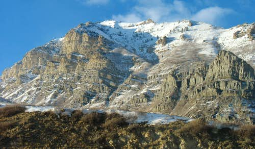 South aspect of Mt. Timpanogos