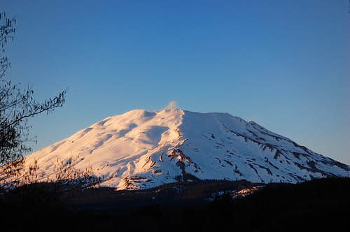 Mt. St. Helens from the South