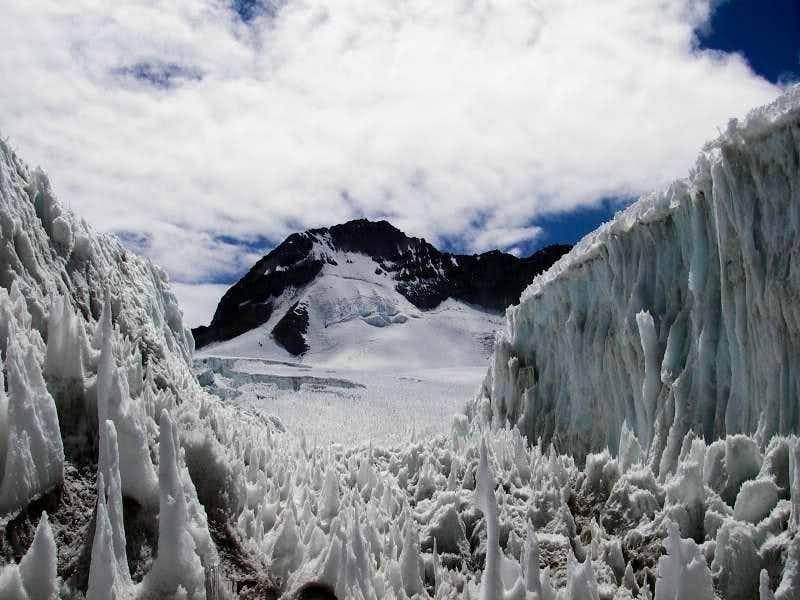 The Glacier on Solimana