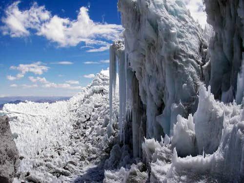 Solimana Glacier