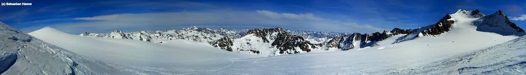 Panorama from ski-depot