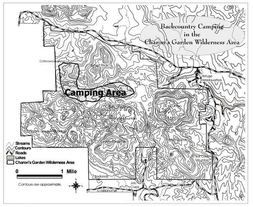 Backcountry Camping in the Charon\'s Garden Wilderness
