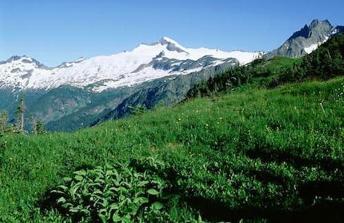 Eldorado Peak from Sahale Arm