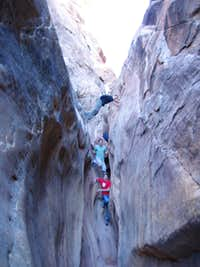 dang canyon climbing