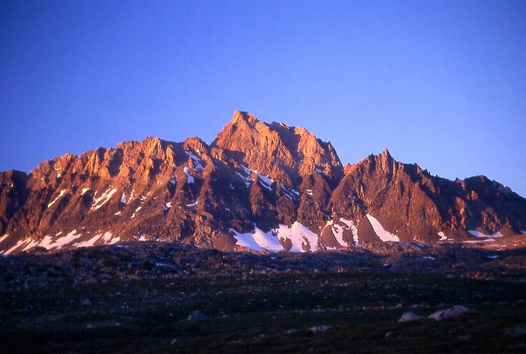 Mount Humphreys at sunset...a...