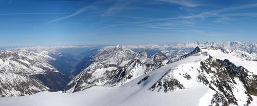 Panorama - Stubaital, Serles, Wilder Pfaff
