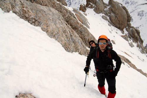 RenatoG  climbing the Direttissima