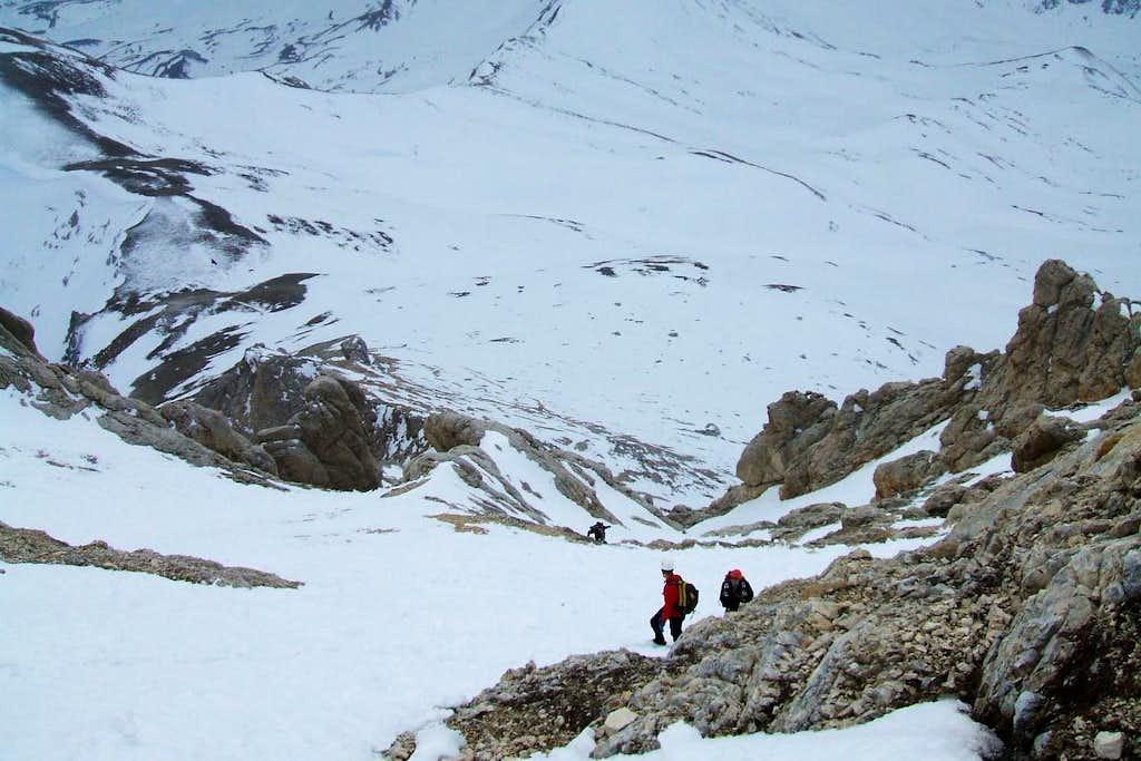 Leo&Michele climbing direttissima