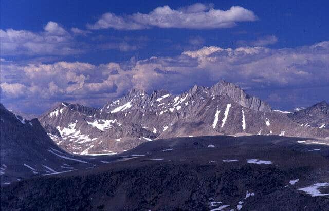 Mount Julius Caeser (left)...