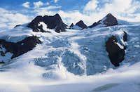 The Blue Glacier on Mt. Olympus