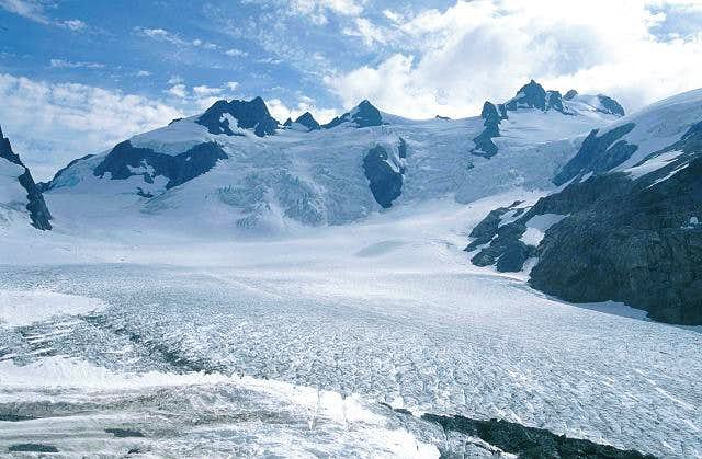 The Blue Glacier from the...