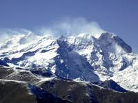 Close up to Monte Rosa