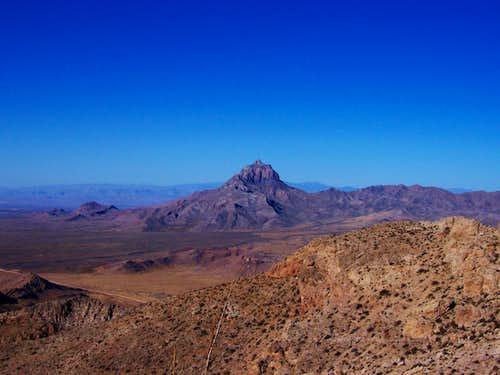 Moapa Peak from Davidson Peak