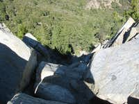 Strawberry peak via colby canyon
