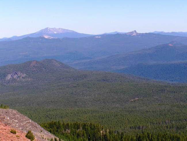 Diamond Peak with Sawtooth...