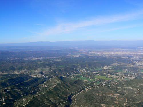 Sant Jeroni Summit View WNW