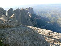 Sant Jeroni Summit View NW