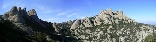 Upper Pinnacles Panorama