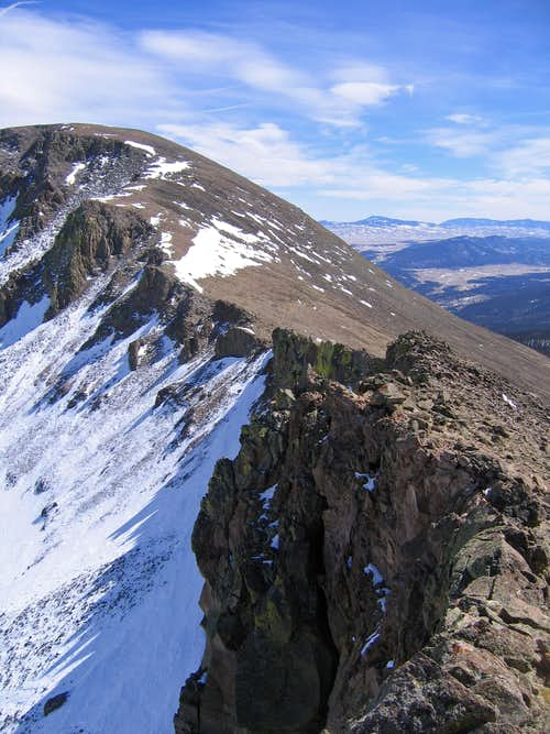 Buffalo Pks connecting ridge