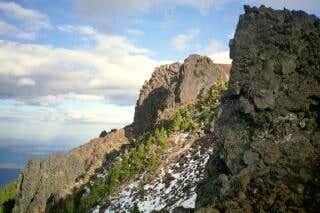 Black Crater summit from the...