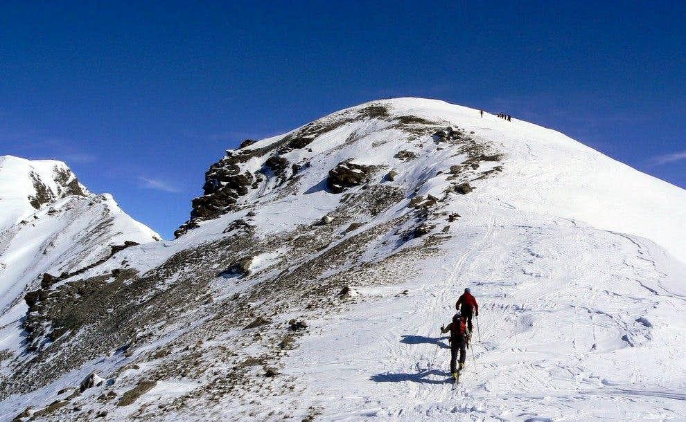 Punta Leissè by ski