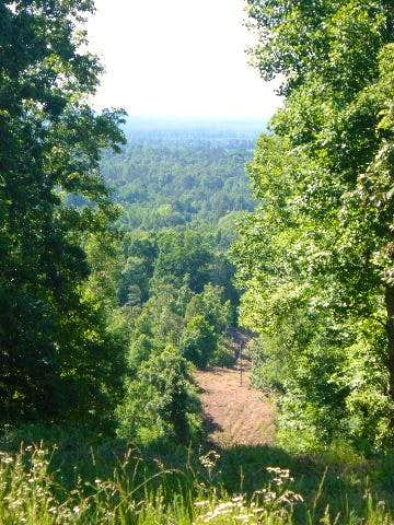 Mississippi - View from the Woodall summit