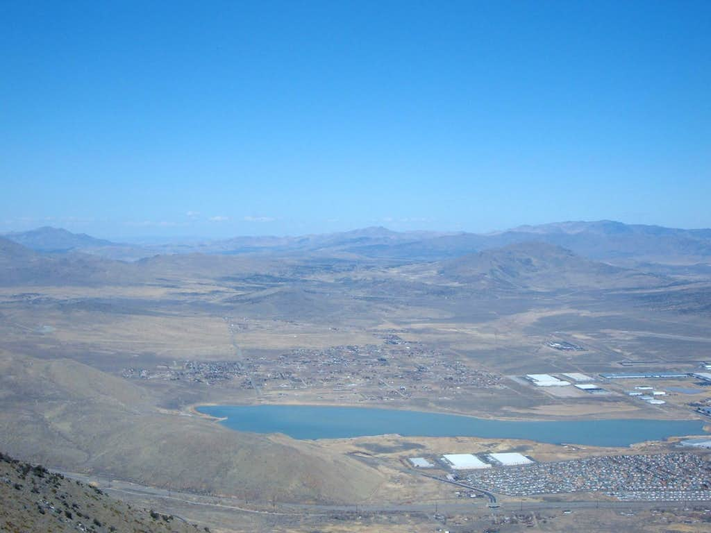 Silver Lake from the summit