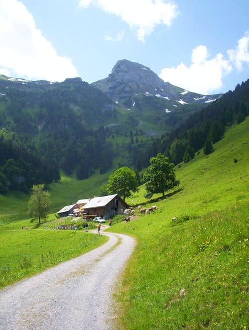 Margelkopf 7,092 ft., Switzerland