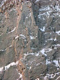 Jim\'s Buttress, III, 5.10a