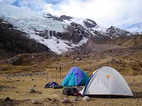 Camp 2, Ausangate south face