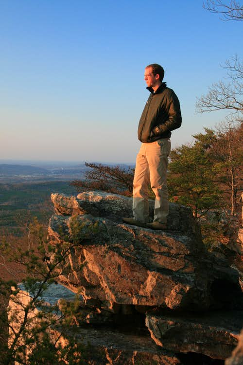 me on Pulpit Rock