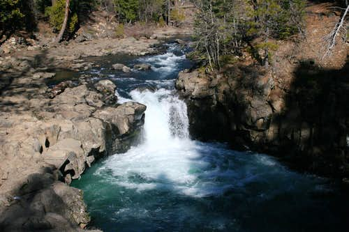 Lower McCloud River Falls