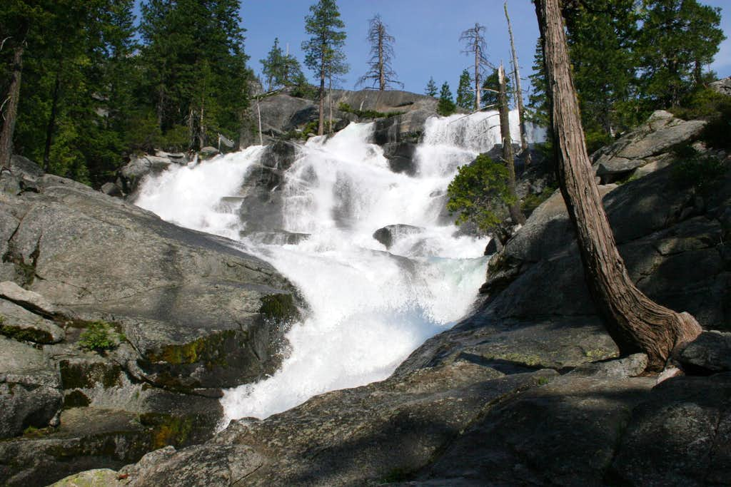 Middle Canyon Creek Falls