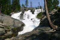 Middle Canyon Creek Falls