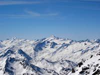 Weißkamm - Wildspitze - Weißkugel