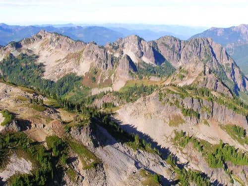 Western edge of Tatoosh...
