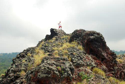 Puhia Pele - Klenke at the top