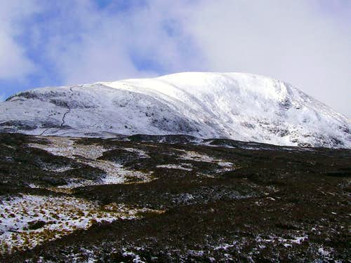 White Coomb From Loch Skeen