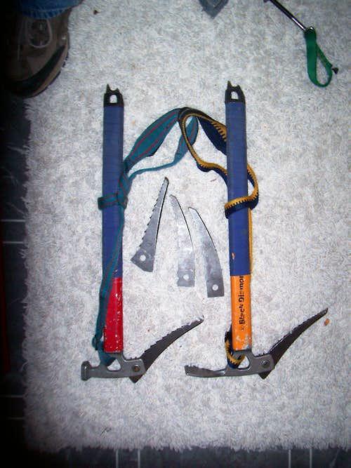 BD X15 ice tools