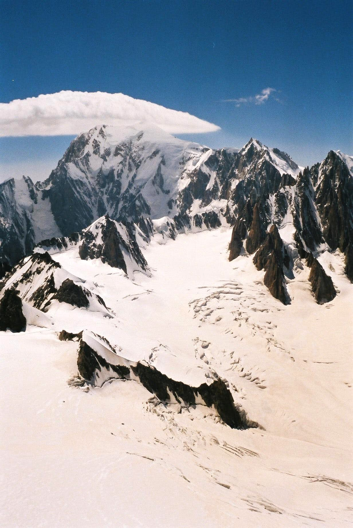Mont Blanc clouds