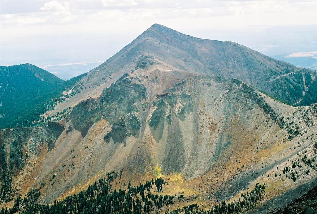 Colorful Agassiz Peak