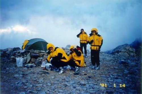 bivouac at camp1