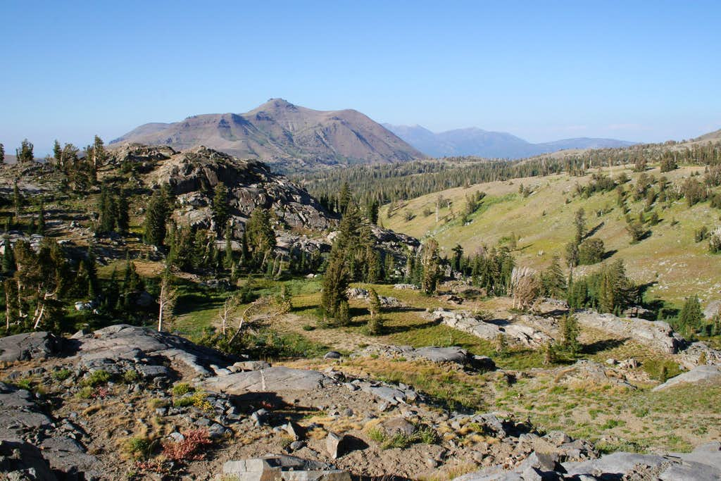 Carson Pass and Red Lake Peak
